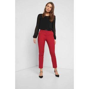 Orsay rovné kalhoty s puky obraz