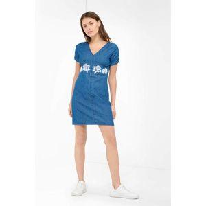 Orsay denimové mini šaty s výšivkou obraz