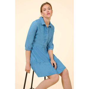 Orsay denimové šaty s áčkovou sukní obraz