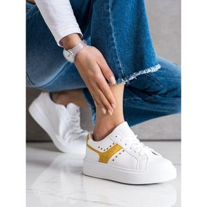 SHELOVET CASUAL SNEAKERS IN ECO LEATHER obraz