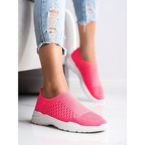 IDEAL SHOES COMFORTABLE OPENWORK SNEAKERS obraz