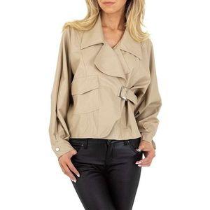 Dámská koženková bunda obraz