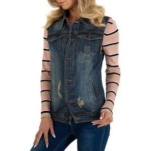 Dámská jeansová vesta obraz