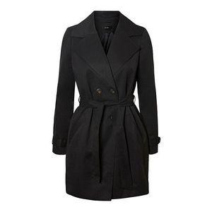 Vero Moda Dámský kabát VMBERTA 3/4 JACKET COL Black XS obraz