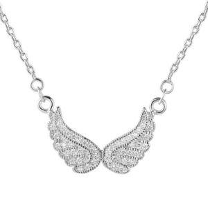 Beneto Stříbrný náhrdelník s křídly AGS194/47 obraz