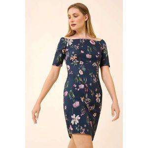 Orsay přiléhavé květované šaty obraz