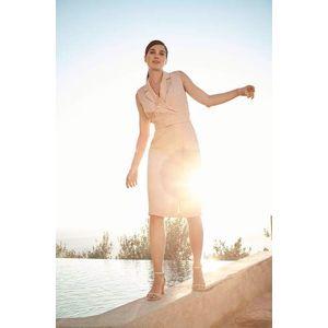 Orsay přiléhavé šaty s opaskem obraz