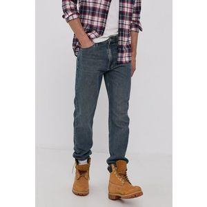 Tommy Jeans pánské modré džíny Tapered obraz