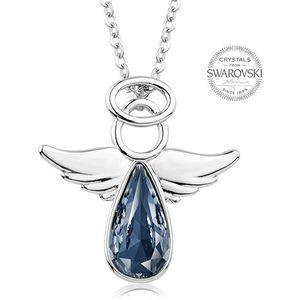 Levien Náhrdelník s modrošedým krystalem Angel Rafael LE0140 obraz