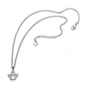 Viceroy Ocelový náhrdelník s půvabným andělíčkem Fashion 90029C01010 obraz