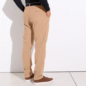 Chino kalhoty z manšestru písková 42 obraz