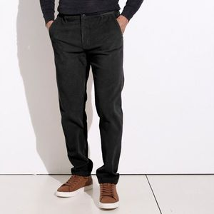 Chino kalhoty z manšestru černá 46 obraz