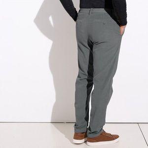 Chino kalhoty z manšestru šedá 44 obraz