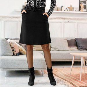 Sukně z Milano úpletu černá 42 obraz