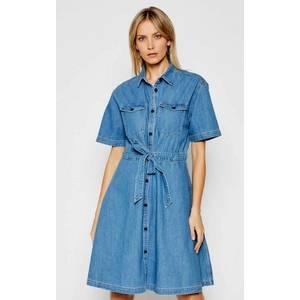 Tommy Jeans dámské džínové šaty obraz