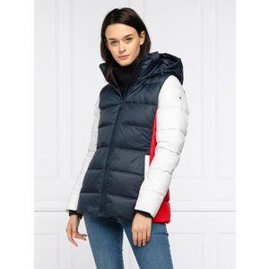Tommy Hilfiger dámská zimní bunda Colorblock obraz