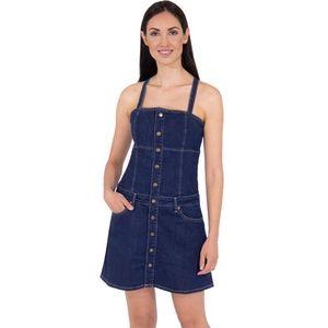 Pepe Jeans dámské džínové šaty Flame obraz