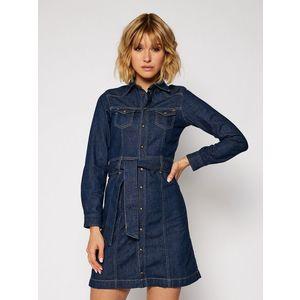 Pepe Jeans dámské džínové šaty Julie obraz