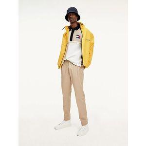 Tommy Hilfiger pánská žlutá přechodová bunda obraz