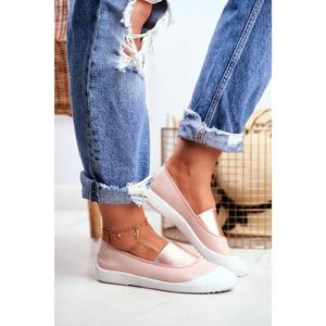Sneakers On Slip On Sneakers Pink Justy obraz