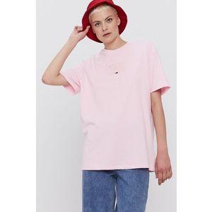 Tommy Jeans - Bavlněné tričko obraz