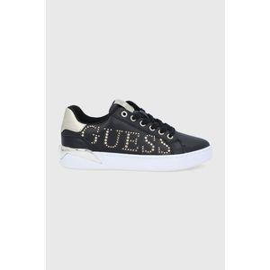 Guess - Kožené boty obraz