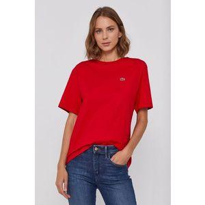 LACOSTE Tričko červená obraz