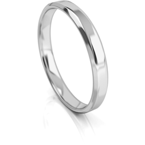 Art Diamond Pánský snubní prsten z bílého zlata AUGDR001 66 mm obraz
