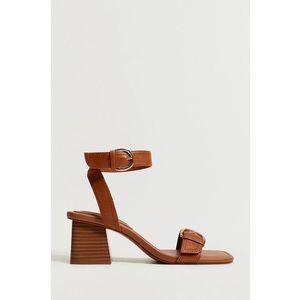 Mango - Kožené sandály MORE obraz