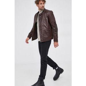 Pepe Jeans - Kožený kabát obraz